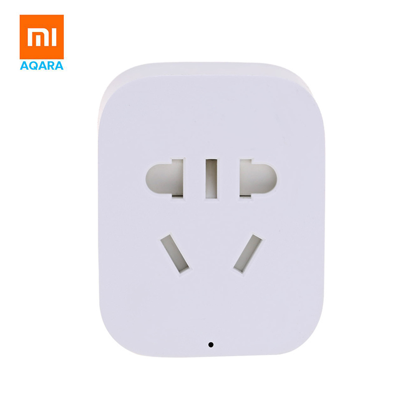 Original Xiaomi Smart Socket Plug Bacic WiFi Wireless Remote Socket Adaptor Power on and off with phone power adaptor with uk socket plug for smart phone tablet pc mini pc