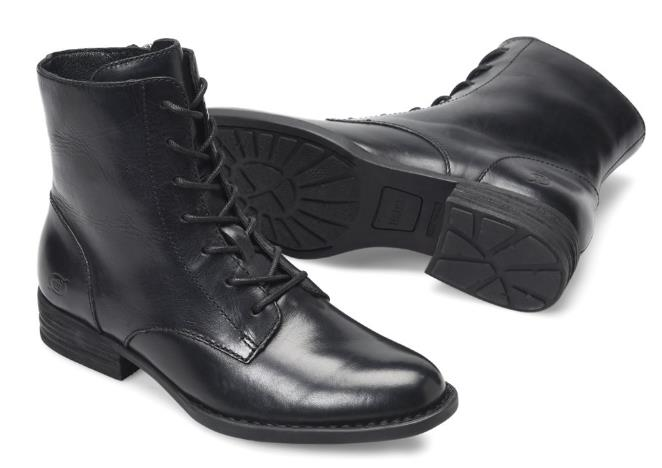 New leather lace, 7 hole female boots, side zipper, Martin boots, comfortable feet, strong gas field boots gas boots