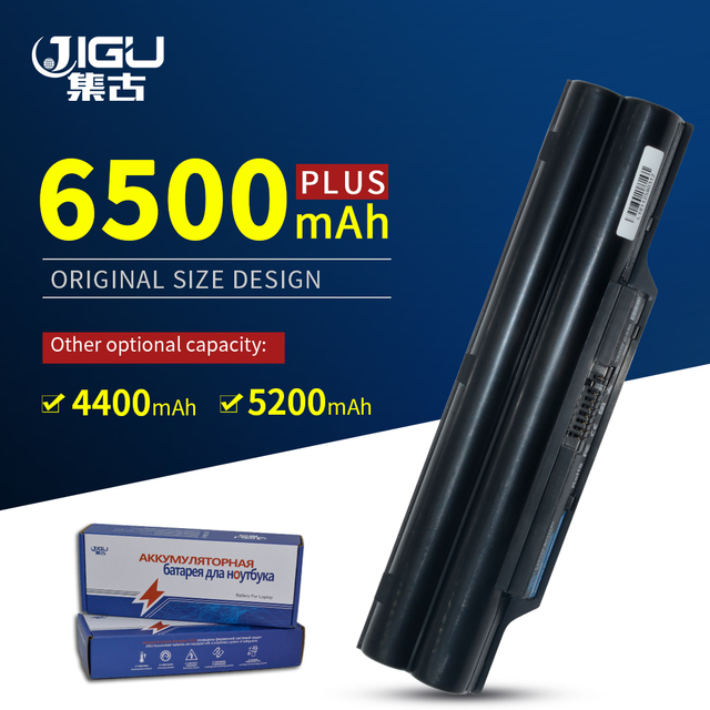 JIGU Laptop Battery For Fujitsu LifeBook A530 AH531 A531 PH521 AH530 LH520 CP477891 01 FMVNBP186 FPCBP250 BP250  FPCBP250