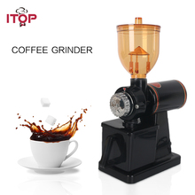 ITOP Coffee Grinders Electric Bean Grinder Commercial Burr Milling machine Food Processors 110V/220V