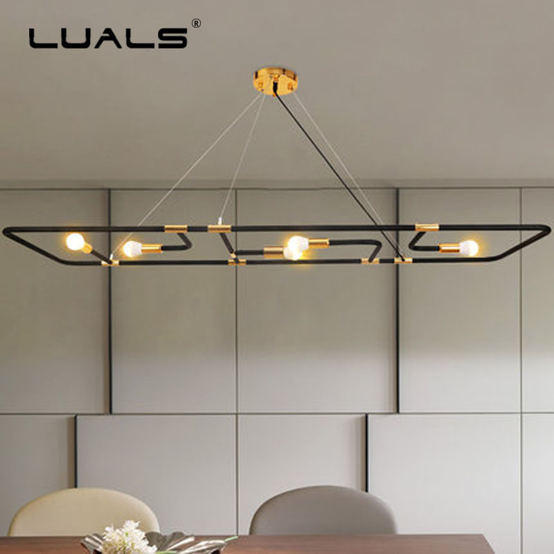 цены Modern Led Pendant Lamp Art Suspension Luminaire Restaurant Light Fixtures Loft Pendant Lights For Dining Room Modern Lighting