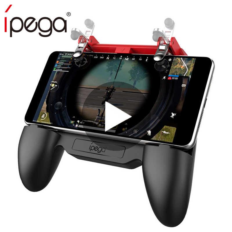 IPega Joystick para Android iPhone teléfono Pubg controlador móvil Gamepad juego Pad disparador gratis Fire Gaming Control teléfono móvil