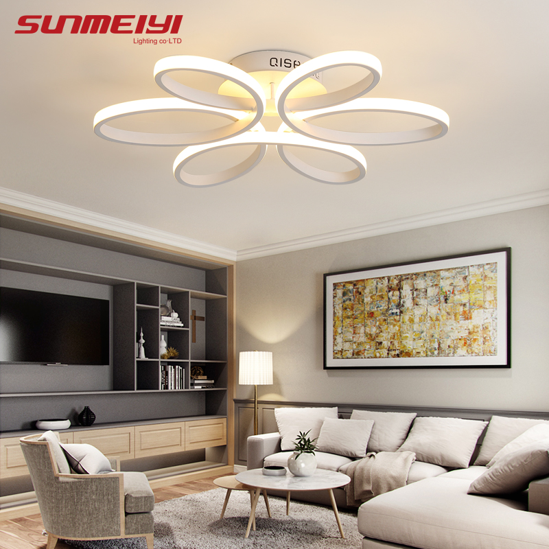 Surface Mounted Modern Led Ceiling Lights For Living Room luminaria led Bedroom Fixtures Indoor Home Dec Ceiling Lamp цена