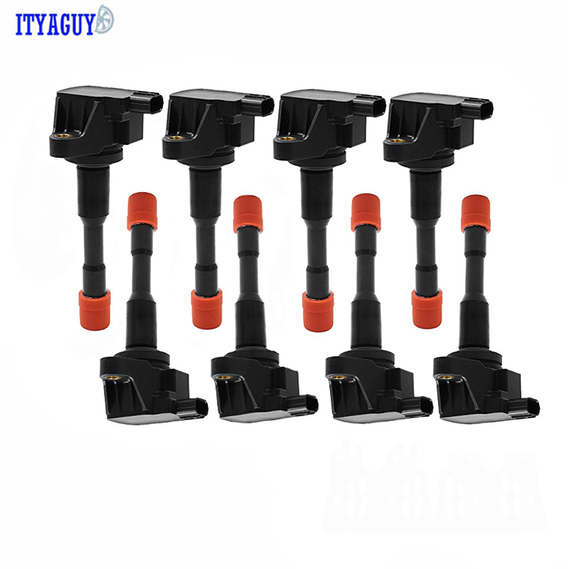 8PCS 30521-PWA-003 Ignition Coil For Honda CIVIC JAZZ 1.3L CM11-108 30521-REA-Z01 30521-PWA003 CM11108 <font><b>30521PWA003</b></font> Ignition Coil image