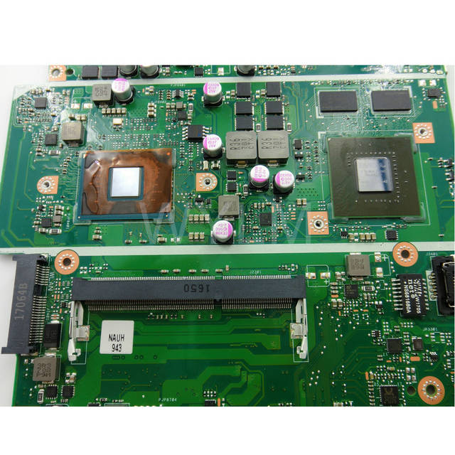 X541NC With N3450 CPU Graphics Card N15V-GL1-KA-A2 2GB Mainboard REV 2 1  For ASUS X541NC Laptop Motherboard 90NB0E90-R00020