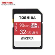Toshiba SD карты памяти UHS U 32 ГБ 90 МБ/с. 600×32 г SDHC карты SD 32 ГБ SDXC карты вспышки для цифровых зеркальных Камера видеокамера DV