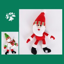 Wine Bottle Cover  with Santa Claus, Snowman, Christmas Decoration