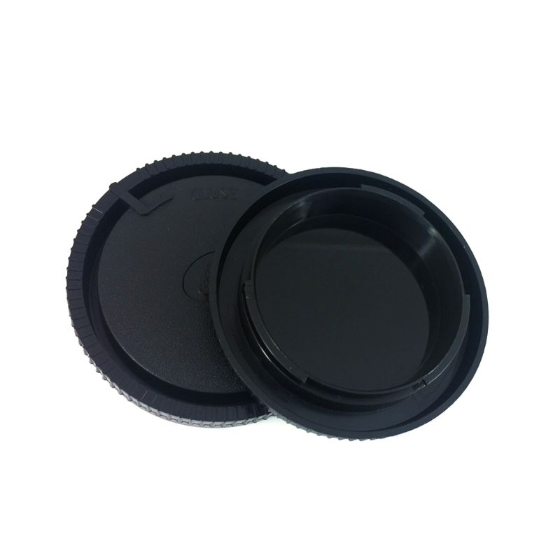 Plastic Rear Back Lens Cover Camera Front Body Cap For Sony Alpha Minolta DSLR MA Mount Camera Lens Accessories