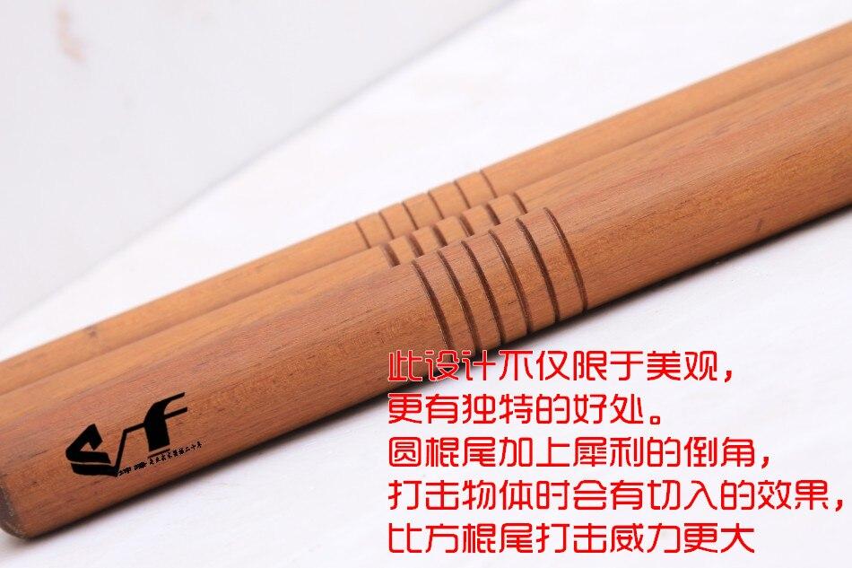 Vermelho artes marciais vara auto-defesa varas curtas