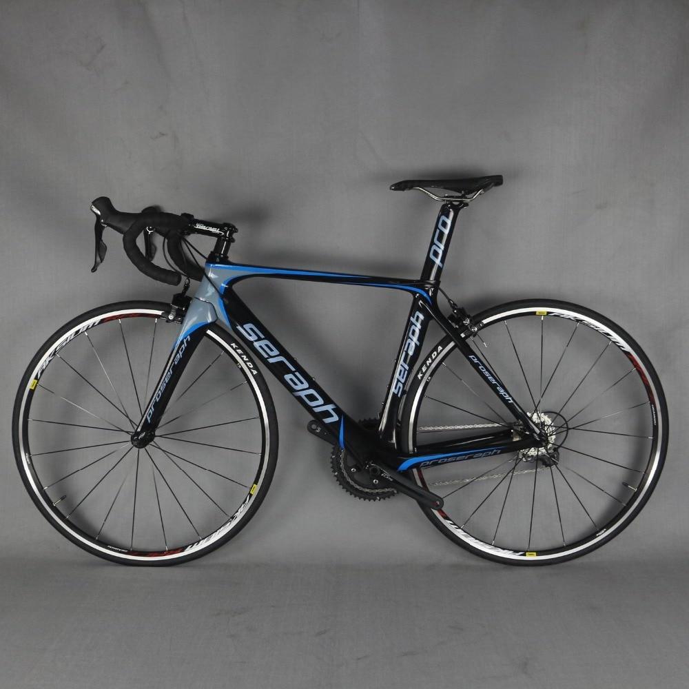Completa de Carbono Estrada Da Bicicleta, Bicicleta De Carbono Quadro de Estrada com groupset 22 velocidade Da Bicicleta Da Estrada bicicleta Completa