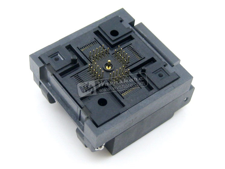 Parts Free Shipping Enplas IC Burn-in Test Socket Adapter QFN-40BT-0.5-01 0.5mm Pitch QFN40 MLP40 MLF40 package free shipping qfn 10 20 bt 0 5 02 enplas ic burn in test socket adapter 0 5mm pitch qfn10 mlp10 mlf10 package