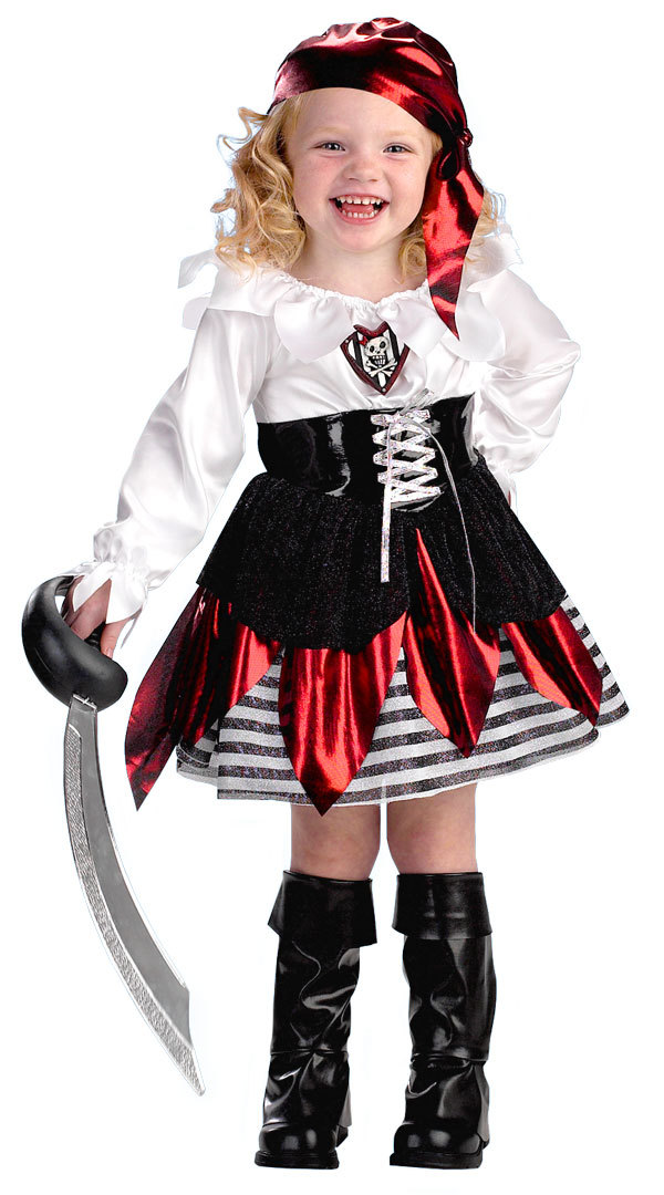 Kidu0027s Pirates of the Dubai cosplay costume girl Masquerade party cute skull print dress Pirate cosplay clothes For little girl-in Girls Costumes from ...  sc 1 st  AliExpress.com & Kidu0027s Pirates of the Dubai cosplay costume girl Masquerade party ...