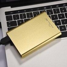 """Внешний жесткий диск 320 ГБ HDD USB3.0 2.5 """"high Скорость 500 ГБ жесткий диск для компьютера и ноутбука HD экстерно 1 ТБ disque мажор externe"""