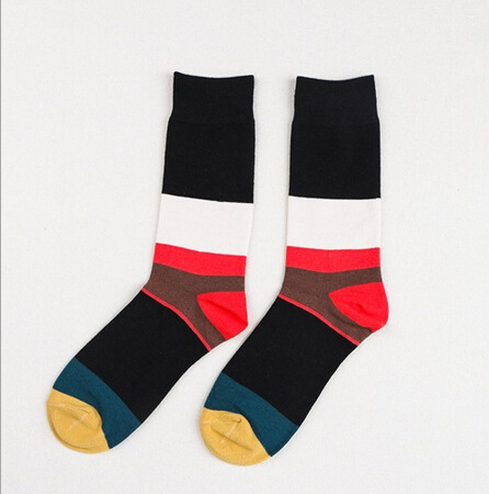 New Combing Socks Personality Creative Colorful Mens Socks Happy Socks Funny Fun Casual Stockings