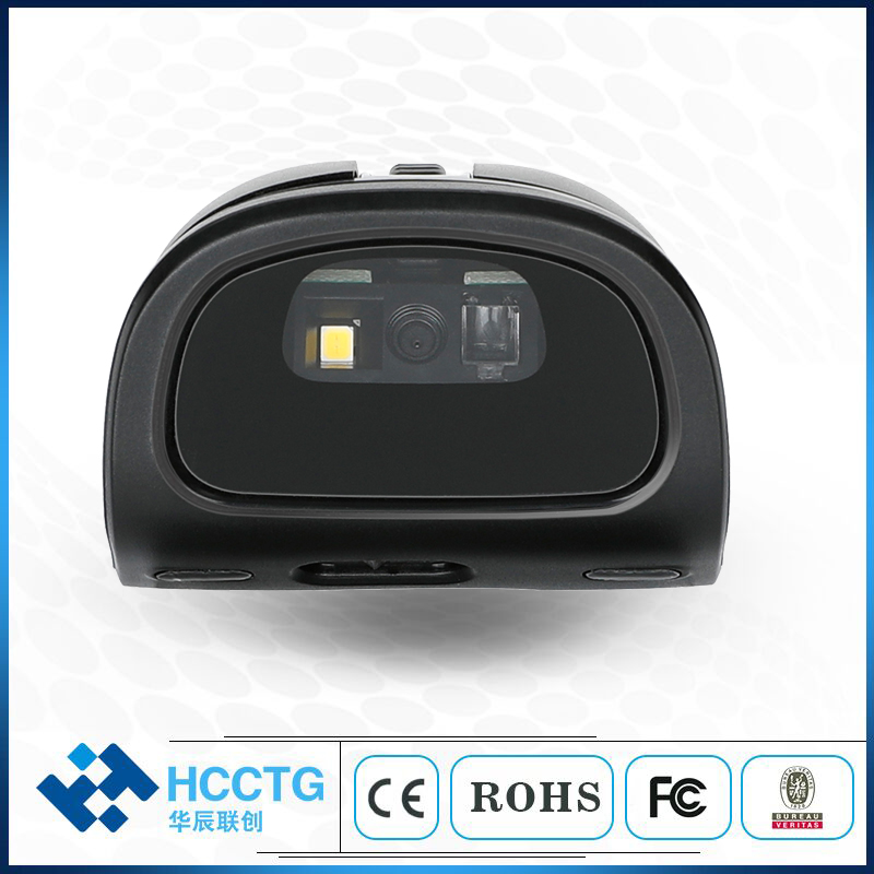 mini 24g mouse sem fio bluetooth barcode scanner hm3 05