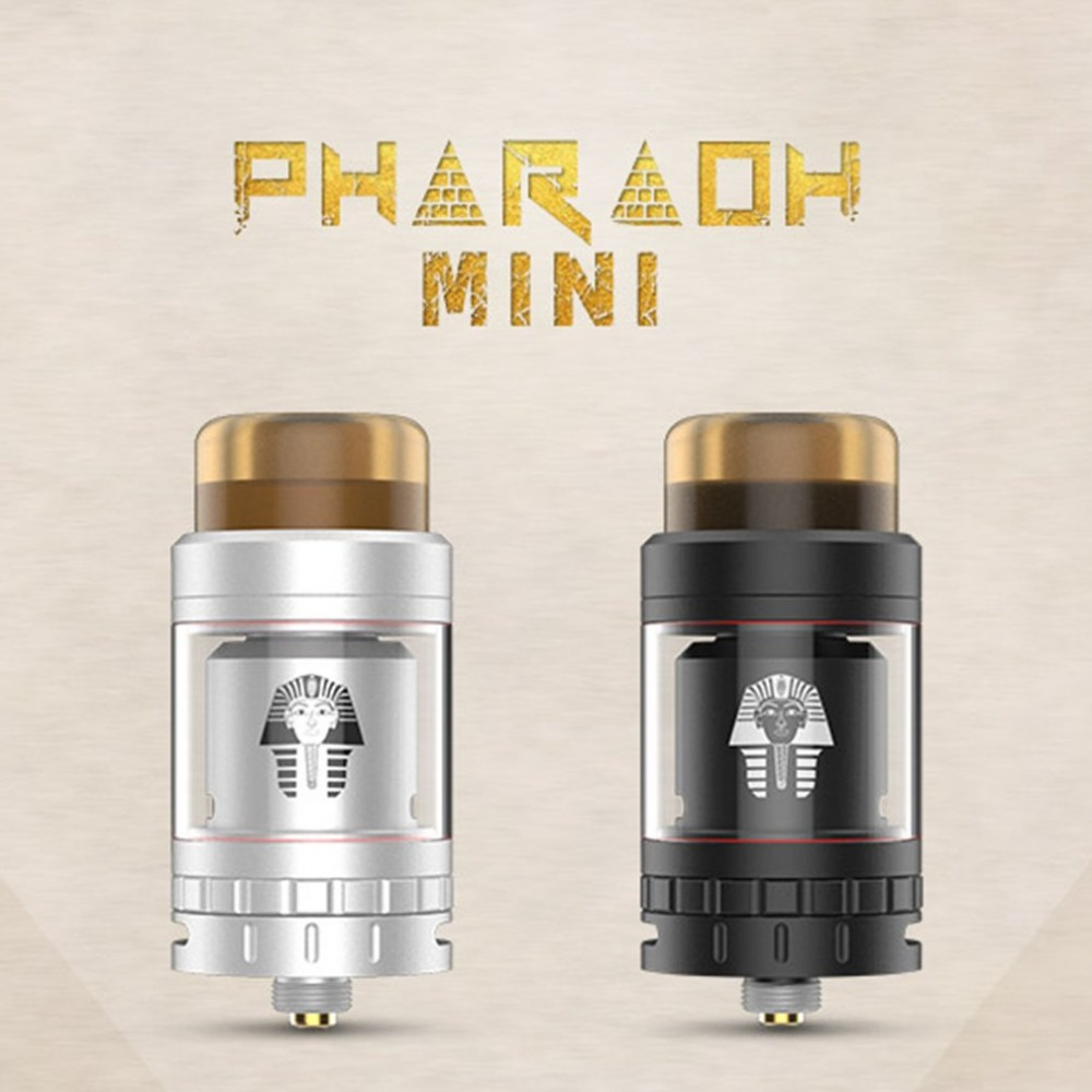 Digiflavor Pharaoh Mini RTA 5ML / 2ML Verstuiver upgrade - Elektronische sigaretten