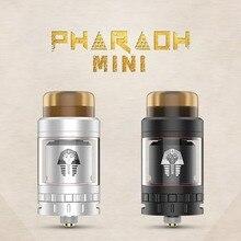 Digiflavor Pharaoh Mini RTA 5ML / 2ML Обновление для распылителя Система управления воздушным потоком для 510 ниток Электронная сигарета RTA Vape Tank