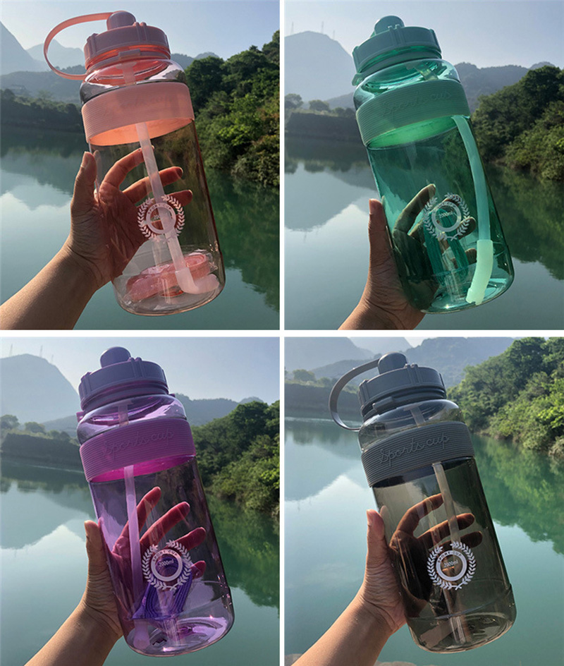Hot Sale Outdoor Fitness Sports Bottle Kettle Large Capacity Portable Climbing Bicycle Water Bottles BPA Free Gym Space Cups