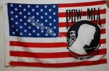 POW MIA USA Flagge Sie Nie Vergessen Flagge heißer verkauf waren 3X5FT 150X90 CM Banner messing metall löcher
