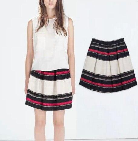Online Shop BSQ235 New Fashion Ladies' elegant colored striped ...