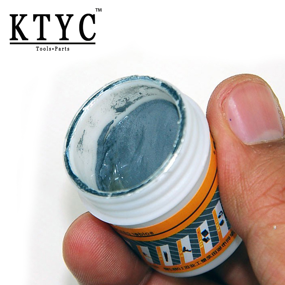 KTYC BGA Soldering Paste Repair Solder Tin Cream Welding Fluxs Seal Grease Tools 50g NO:L309050 high quality intensity soldering paste solder flux paste grease for ic pcb saffron 150g