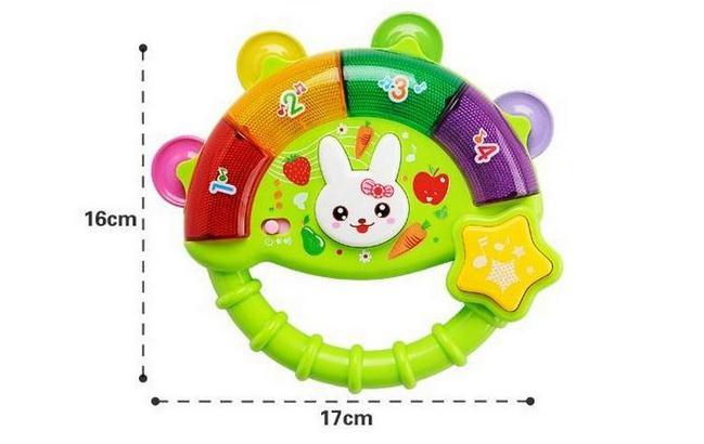 Горячая Распродажа детский Колокольчик для ребенка мальчики девочки электрические игрушки дети музыкальная лампа ребенок учебный музыкальный игрушки