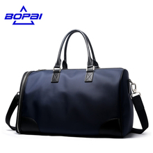 BOPAI New Designed Convenient Travel Duffle Bags Unisex Luggage Bags Unique Design Men Weekend Bag Waterproof Women Travel Bags