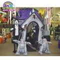 Сделано в Китае дом с привидениями реквизит надувной дом с привидениями для детей празднования праздника