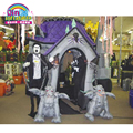 Made in China haunted house props inflatable haunted house for kids celebrating holiday