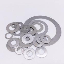 100 Pcs Thickness 0.3mm Flat Washer Ultrathin Gasket Thin Shim Washers Stainless M3 M4 M5 M6 M8 M10 M12 M13 M14 M15 M16 M17
