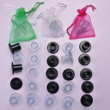 Protection de talon aiguille en Silicone, bouchon de talon haut, antidérapant, couverture pour la danse de mariée, mariage, 40 paires/lot