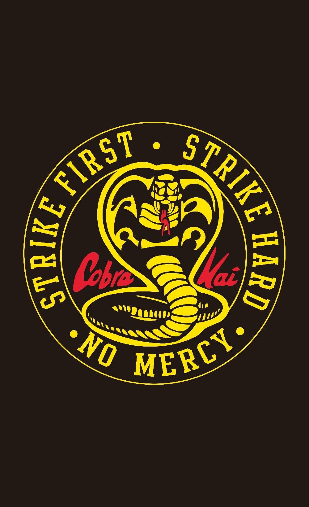 Cobra Kai Logo / Cobra Kai Logo Vinyl Sticker 2 X 2 ...