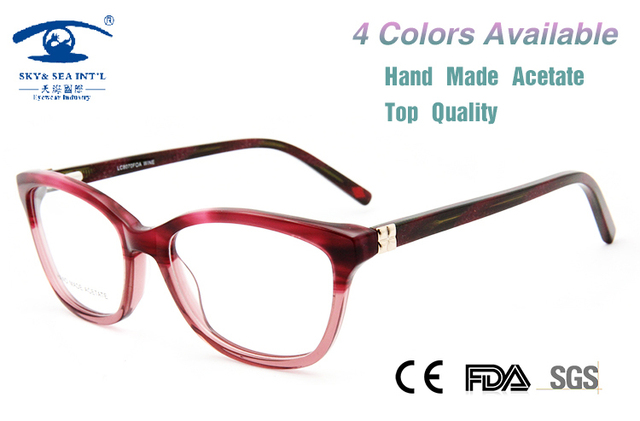 031f012ee3 New High Quality Eye Glasses Frames for Women Fashion oculos de grau  feminino Brand Designer Optical
