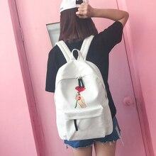 2017 холст Рюкзаки Женская мода Девушка Eastpack школьная сумка Корейский Kpop ulzzang ранцы Рюкзак для продажи ryugak женственный