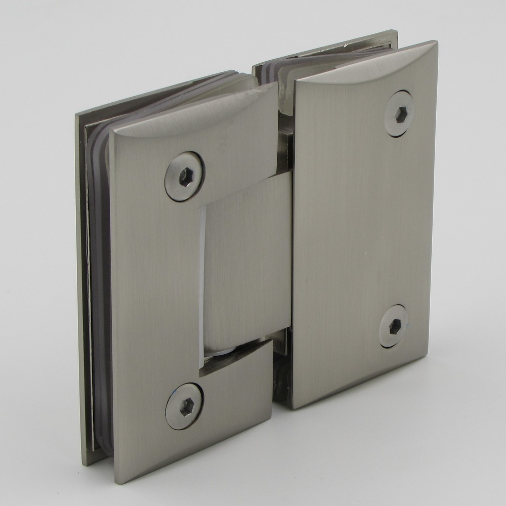 Chrome Plated 180 Degree Glass To Glass Shower Door Hinge For 8