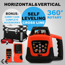 Red Laser Level Selbst nivellierung Rot Strahl Selbst nivellierung Rotary Laser Level 360 Grad Einstellung mit Starke fall