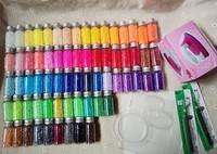 2 6mm 66 Colors 42 000pcs Box Set With 2 Template 3 Hot Paper 1 Tweezers
