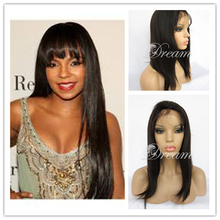 Long Silky Straight Full Lace wigs Swiss Lace Full Lace Human Hair Wigs Brazilian Virgin Hair Wigs 8″-24″ UPS Rosa Hair Products