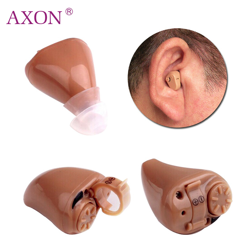 K-82 Digital Hearing Aid In Ear Adjustable Hearing Device Sound Voice Amplifier Mini Pocket Audiphone Hear Clear