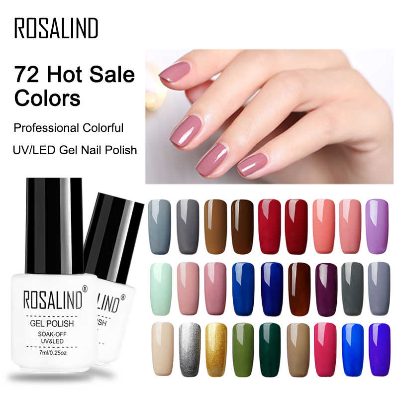 Rosalind Nail Gel Polish Manicure Nail Art Set Voor Nail Extension Vernis Permanente Uv Led Hybrid Ontwerp Van Nagels Gel lak