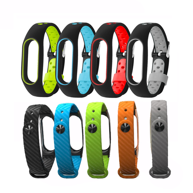 Silicone Wrist Strap Band for Xiaomi Band 2 Smart Wristband for Mi Band 2 Bracelet Smart Band Accessories Correas de reloj image