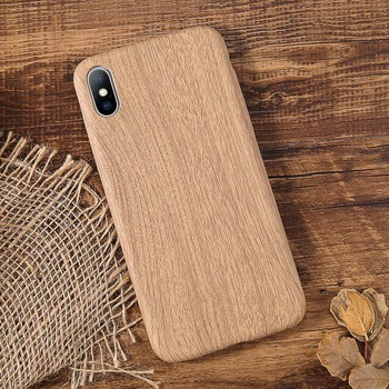 Wood Back Cover iPhone XS Max