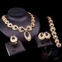 الأفريقي مجموعة المجوهرات قلادة مجموعات المجوهرات لون الذهب التركية مجوهرات اليدوية