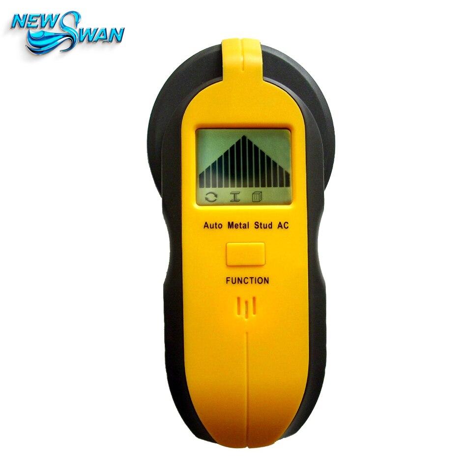 """""""Trijų viename"""" detektorius Raskite metalo medienos smeigtukus, turinčius kintamos įtampos gyvo laido sieninio skaitytuvo elektros dėžutės ieškiklį su grioveliu"""