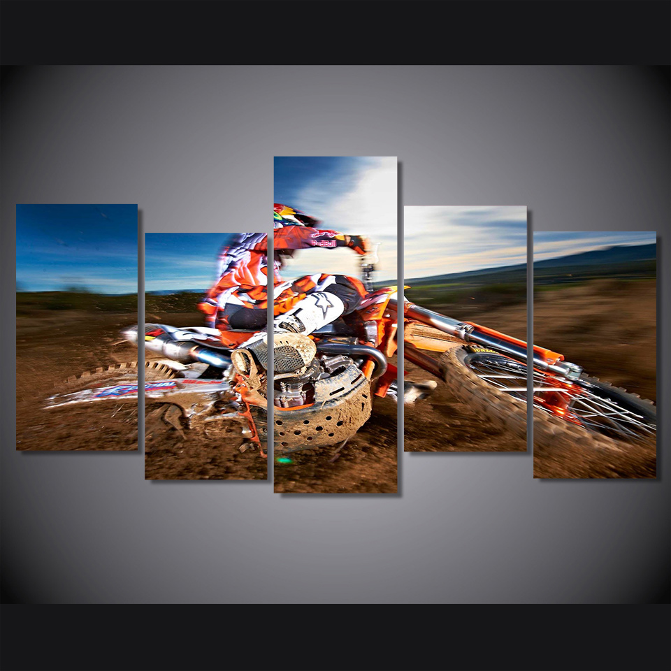 Online buy wholesale motocross poster from china motocross for Poster prints for sale