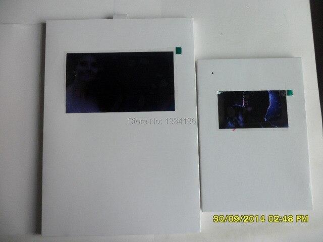 A5 7 Inch Video Cardsmp4 Playerdigital Greeting Cardsbirthday