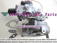 Turbo atuador elétrico CT16V 17201-OL040 17201-30100 17201-30101 Para TOYOTA HILUX Landcruiser SW4 D-4D 1KD-FTV 1KD 1 1KDFTV 3.0L