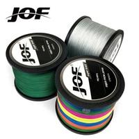 4 strengen 1000 m 500 m 300 m JOF PE Multicolor Gevlochten Vislijn 4 Weave Superieure Extreme Sterke 100% superPower