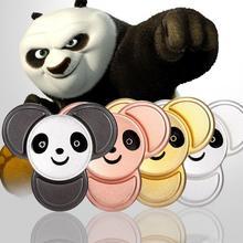 50 шт./лот, 4 цвета, панда, кончик пальца, гироскоп, Спиннер для рук, Спиннер для пальцев, EDC, снимает СДВГ, аутизм, стресс, палец, гироскоп, игрушка