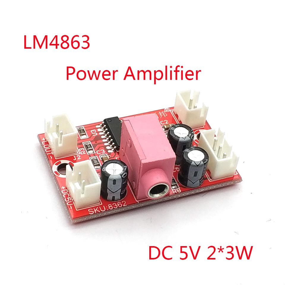 35mm 3 12v Mini Audio Power Amplifier Module Board With Diy Kit In Lm386 Low Voltage Kitin Integrated Circuits Lm4863 Have A Fever 5v Channel 3w Hifi